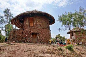 Lalibela villaggio città etiopia