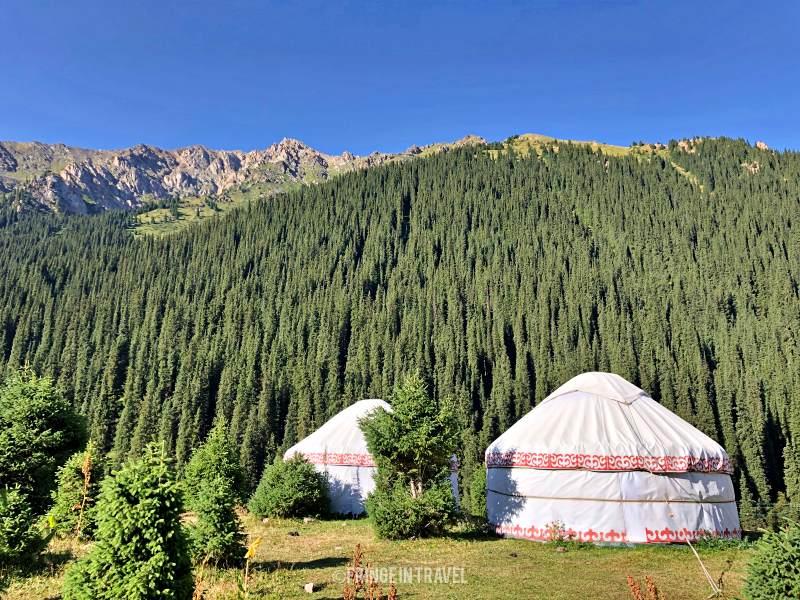 Altyn Arashan Kirghizistan Yurta