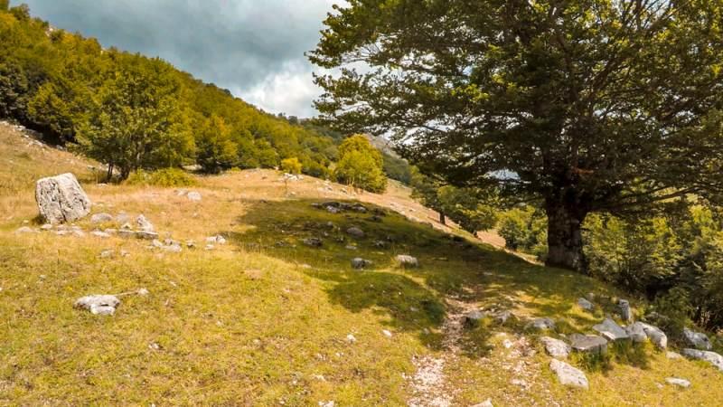 Cammino dei Briganti paesaggio 1