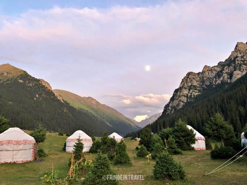 Kirghizistan Camp Yurte