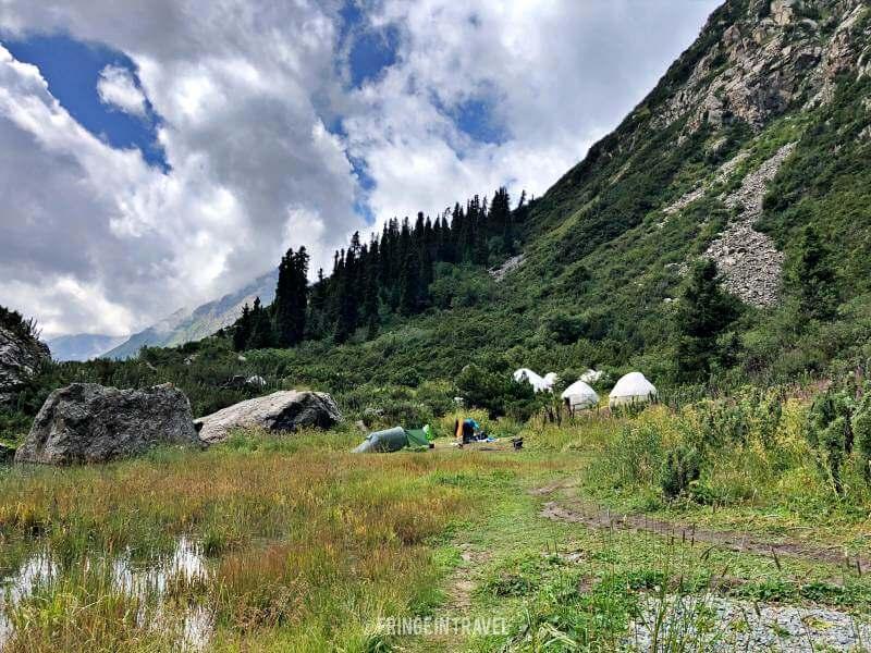 Sirota Camp Kirghizistan