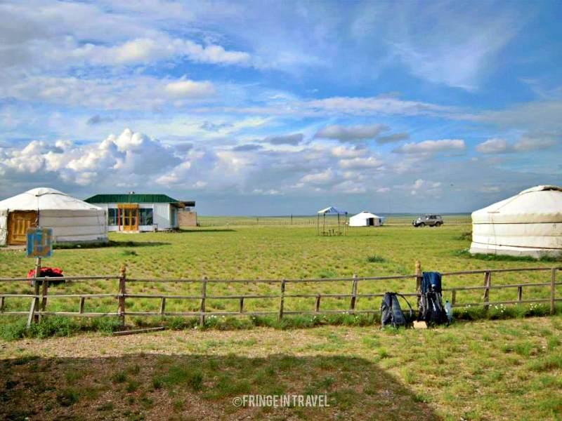 mongolia campi gher
