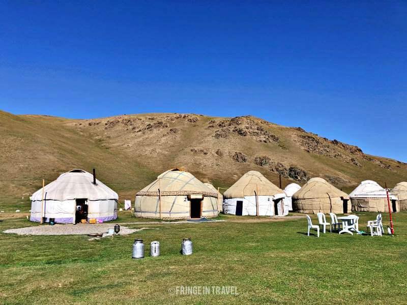 campo yurte kirghizistan