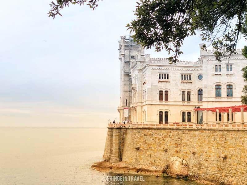 castello miramare di Trieste asburgo