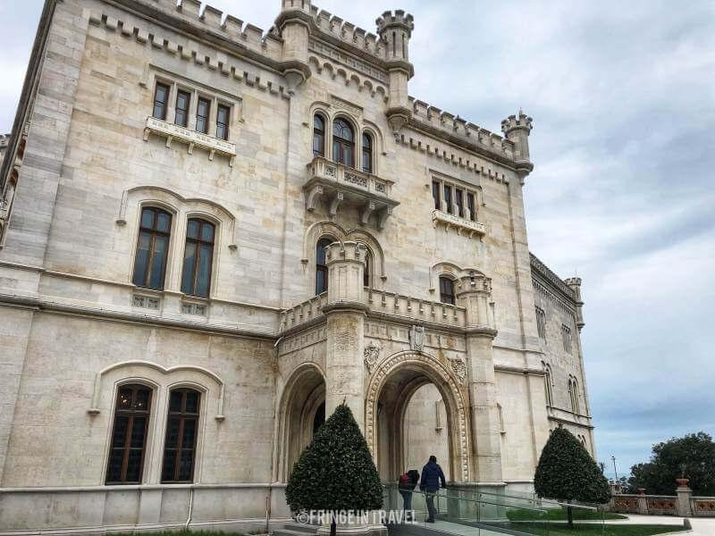 facciata castello miramare triest 5