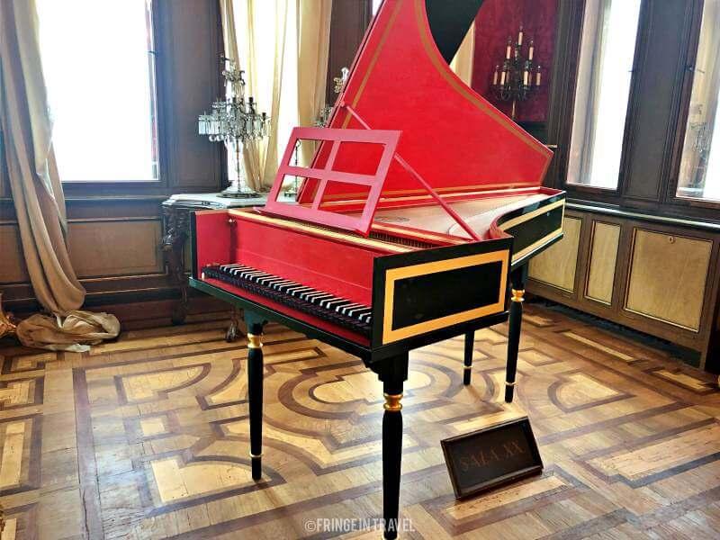pianoforte interno castello miramare trieste
