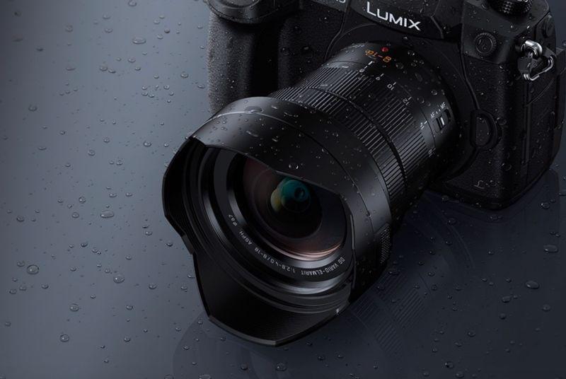 Macchina foto Panasoni Lumis focale