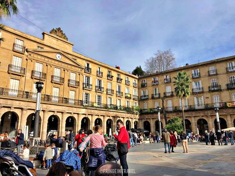 Plaza nueva vedere a bilbao 3