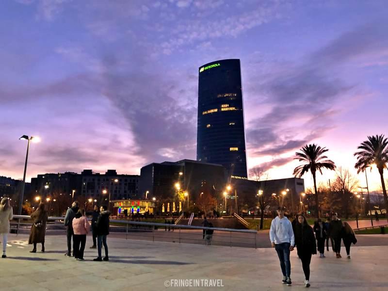 cosa vedere a Bilbao - panorama città