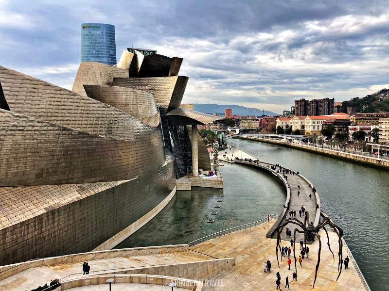 Cosa vedere a Bilbao Guggenheim da Ponte La Salve