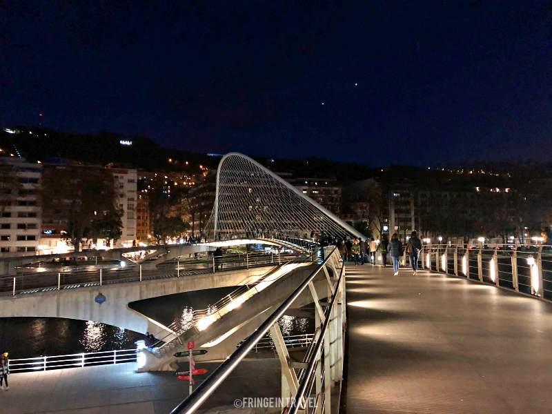 ponte Zubi zuri Calatrava Bilbao