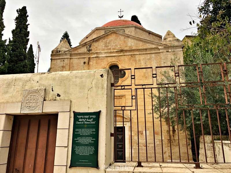 chiesa mensa christi Nazareth