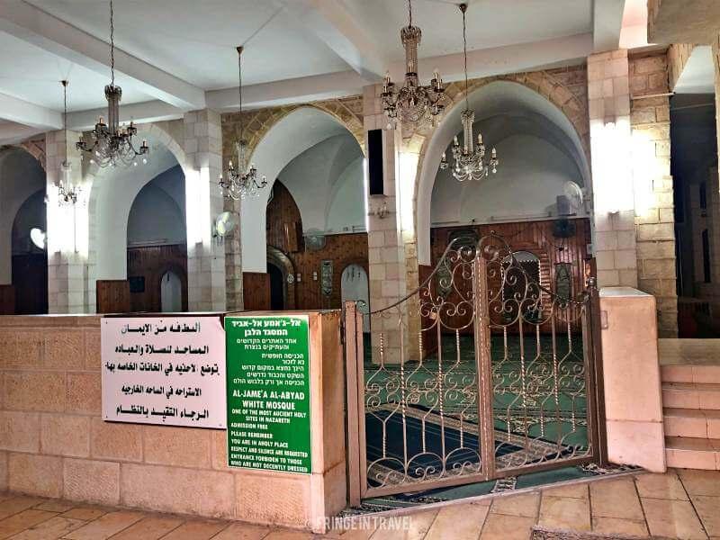 moschea bianca Nazareth