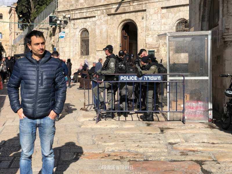 militari Gerusalemme