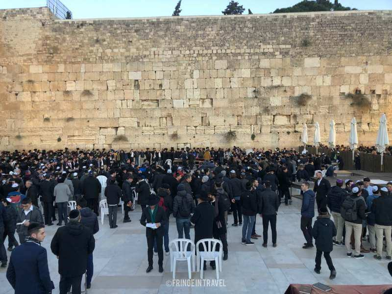 muro del pianto shabbat 2 gerusalemme