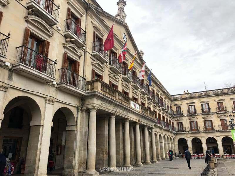 plaza espana vitoria gasteiz