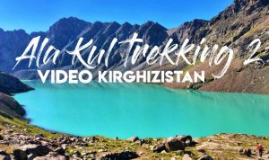 video lago ala kol Kirghizistan