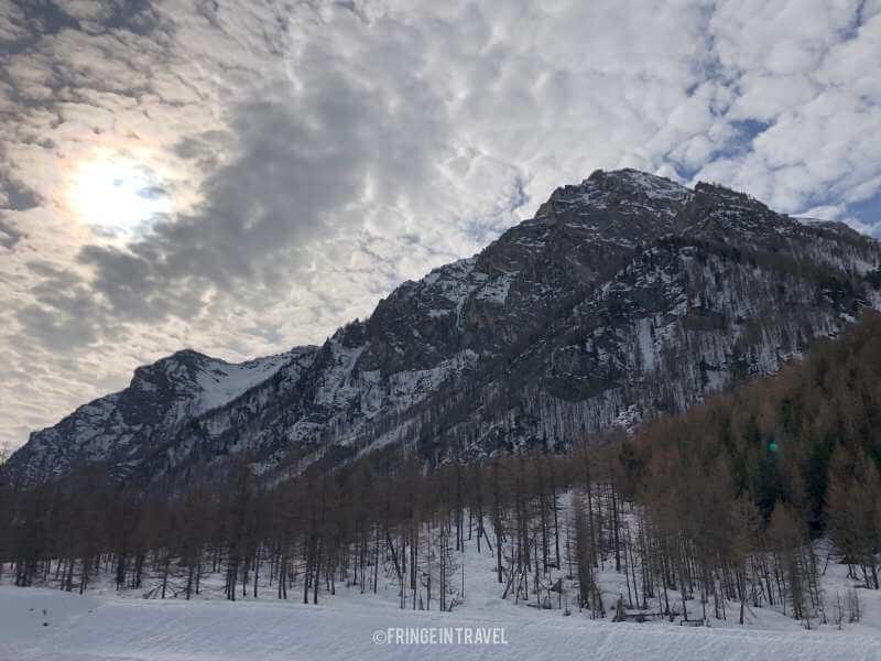 paesaggio Val Troncea