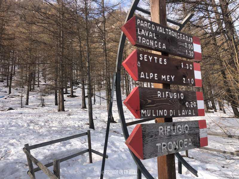 segnali Val Troncea