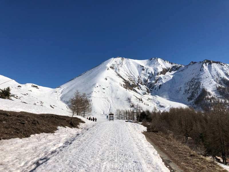 montagna neve piemonte parco orsiera rocciavre