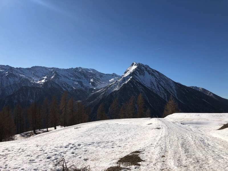 trek Parco Naturale Orsiera Rocciavre neve