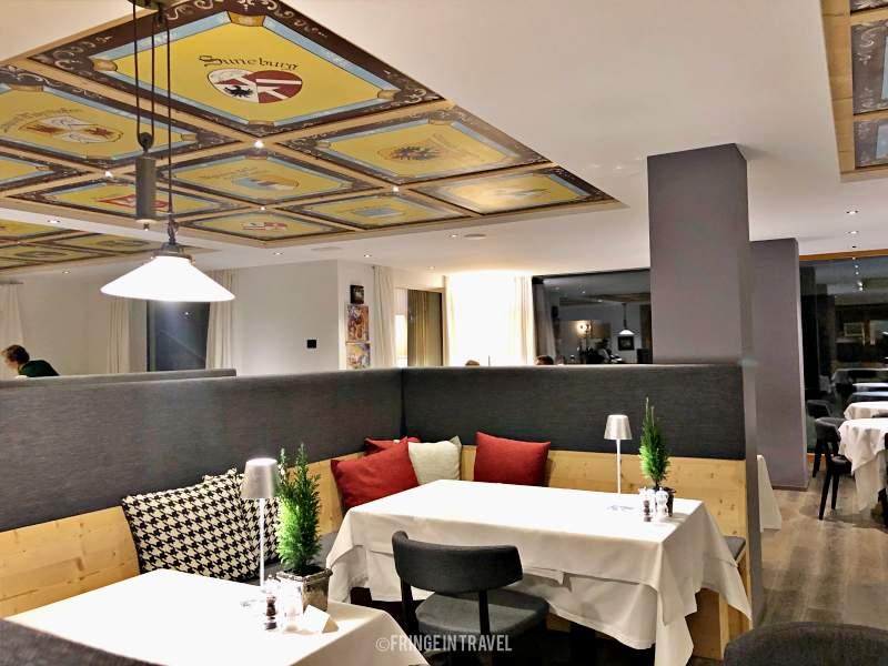 sala ristorante hotel conturines