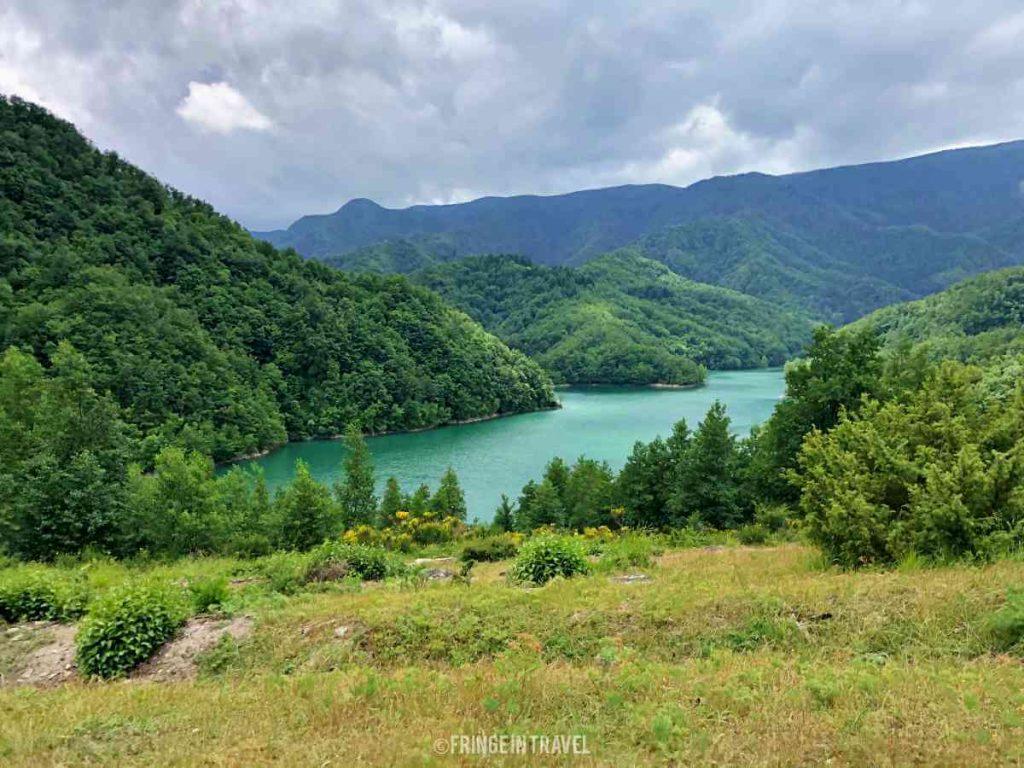 Diga Ridracoli5 lago