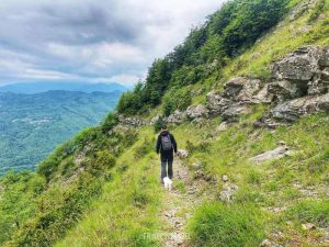 da Brasimone a Chiapporato trekking