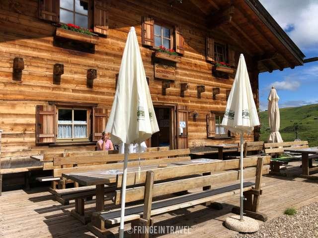 Baita Saltner Alpe Siusi