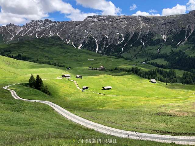 Panorama Cartolina Alpe di Siusi