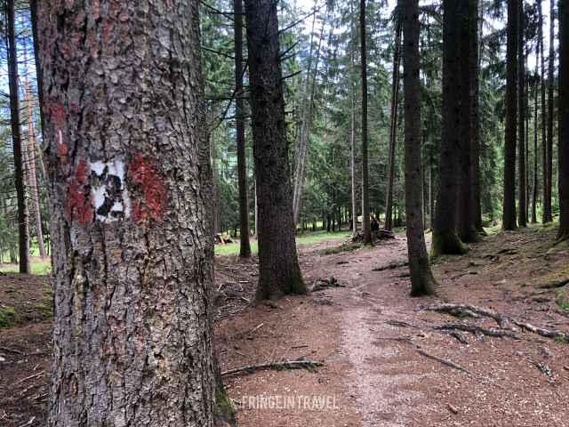 sentiero 2 sciliar alpe di siusi