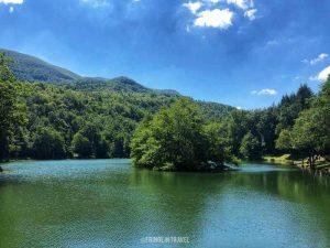lago pontini vista