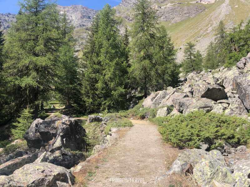 Col Entrelor Valle aosta 2 strada reale