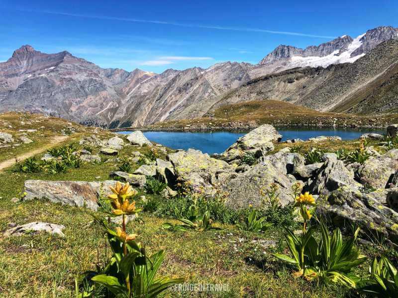 Col Entrelor Lago Djouan