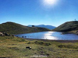 Lago Scaffaiolo campeggio libero