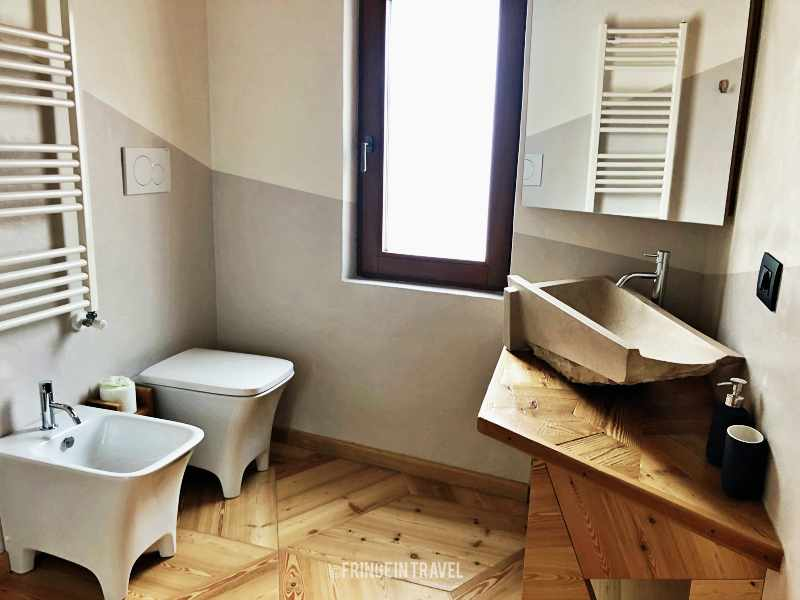 bagno one room