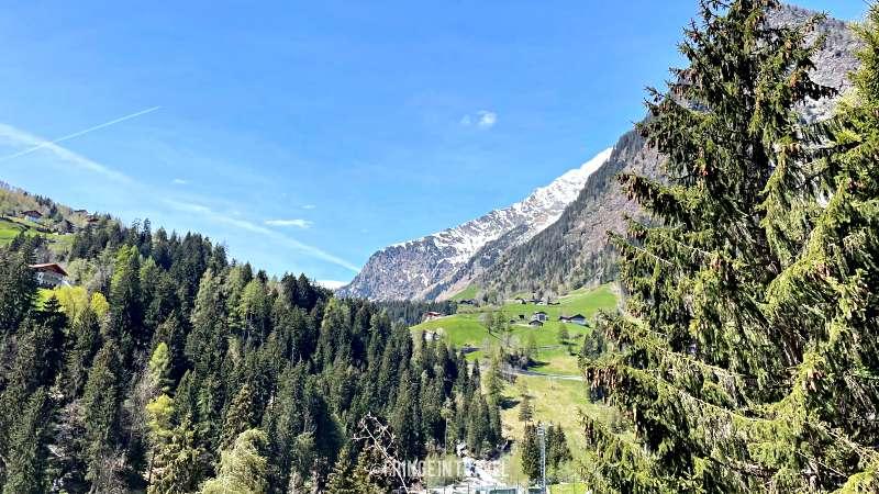 montagne Passerschlucht Percorso