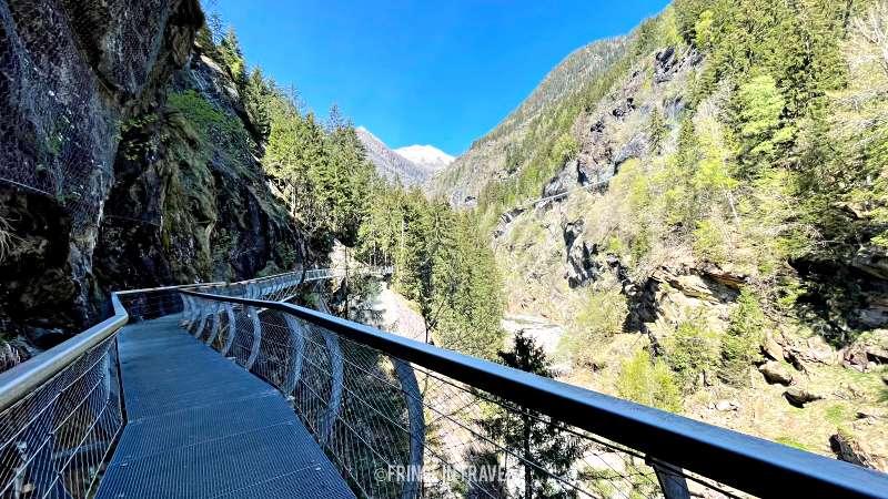 sentiero Passerschlucht Percorso 64